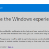 Kako se prijaviti u Windows Insider program