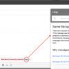 Google zabranio slanje JavaScript datoteka putem Gmail-a