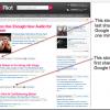 Pretraživač u realnom vremenu OneRiot indeksira deljeni sadržaj Google Buzz-a u rezultatima pretrage