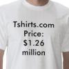 Domen Tshirts.com prodan na aukciji za 1,265 milijuna dolara