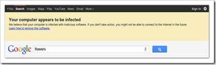 google DNSChanger upozorenje