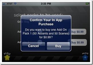 kupnja unutar aplikacija