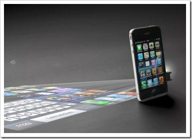 mini projektor pametni telefom