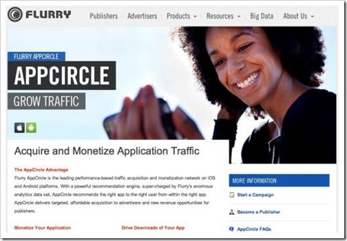 flurry aplikacija appcircle