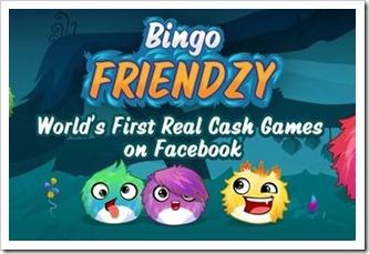 Bingo Friendzy prva facebook aplikacija za kockanje sa stvarnim novcem