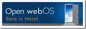 hp lansirao open webos beta