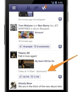 facebook mobile news feed