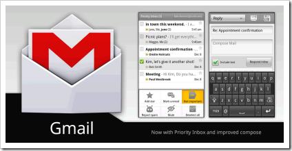 gmail-android-aplikacija
