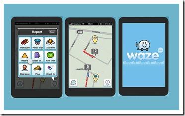 Waze-navigacija