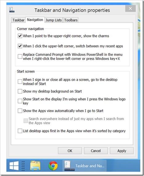 Windows 8.1 kako postaviti desktop kao primarni ekran