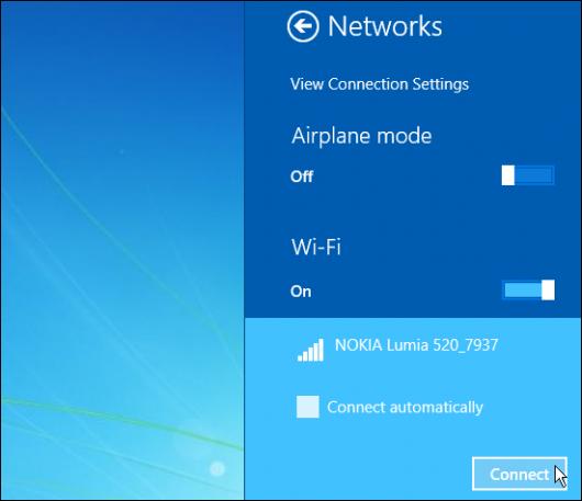Povezivanje laptop ili tablet računara na Wi-Fi hotspot vašeg telefona