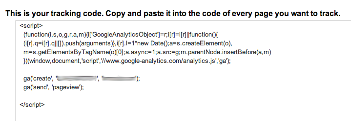 google analytics kod