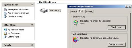 defregmentacija diska