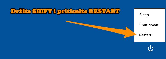 shift+restart
