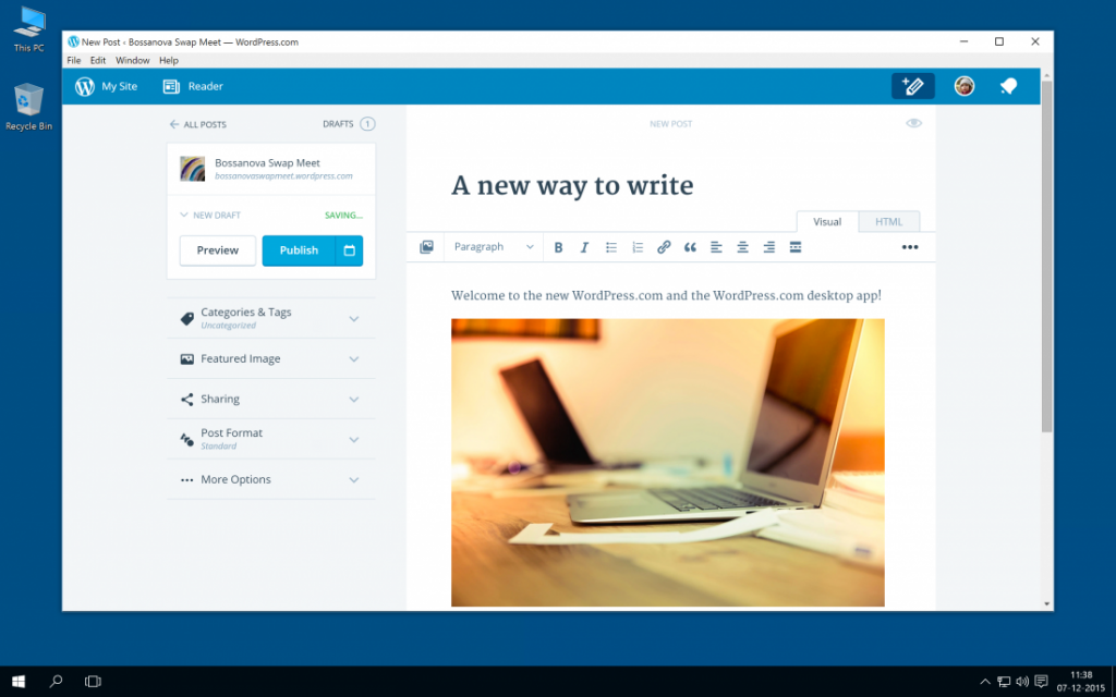 wordpress desktop app