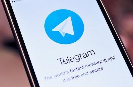 aplikacija za slanje poruka telegram