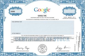 google-class-a-stock