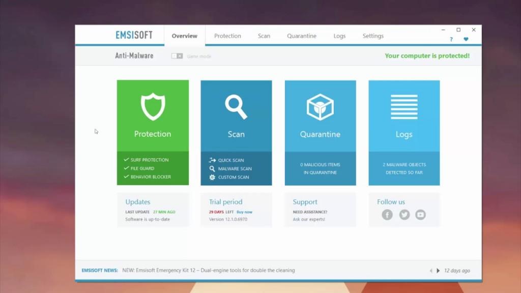 emsisoft-anti-malware-protected